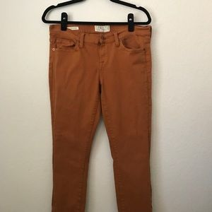 Burnt Orange Lucky Brand Jeans